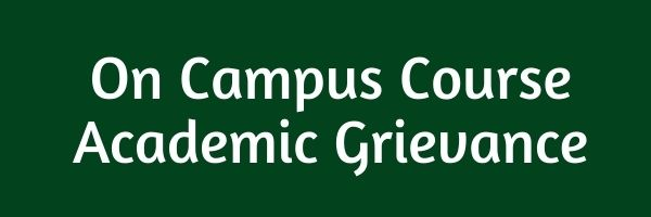 On Campus Course Academic Grievance